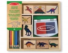 Stempelset Dinosaurier