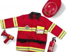 Kostümset: Feuerwehrmann
