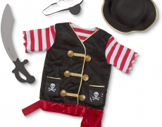Kostümset: Pirat