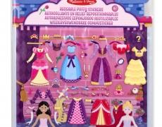 Wiederverwendbare Puffy Sticker Prinzessinnen