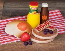 ERZI American Breakfast aus Holz, 13-tlg.