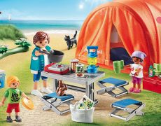 Playmobil Family Fun - Familien-Camping