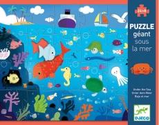 Djeco Bodenpuzzle: Tief im Meer, 24 teilig