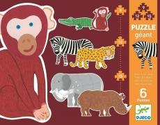 Djeco Puzzle Henri & Friends 9-12-15