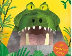 """FLIP FLAP """"Dschungel-Tiere"""": Mix-Max und Pop-up-Buch"""
