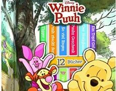 Winnie Puuh - Disney-Bücherbox mit 12 Pappbilderbüchern