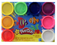 Play-Doh 8er-Pack in 8 Regenbogenfarben