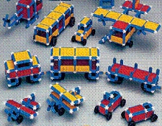 SUPER SONOS Jumbo Basic 305 Teile in School-Tray