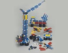 SUPER SONOS Jumbo Basic 405 Teile in School-Tray