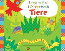 Babys erstes Schiebebuch: Tiere