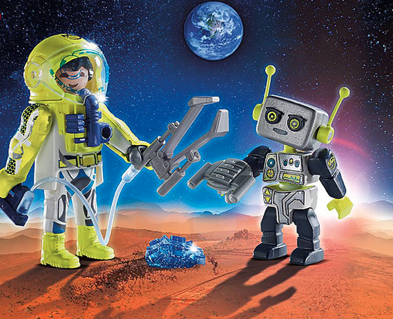 Playmobil Duo Pack - Astronaut und Roboter
