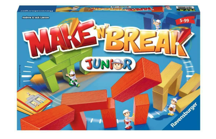 Ravensburger - Make 'n' Break Junior      5+