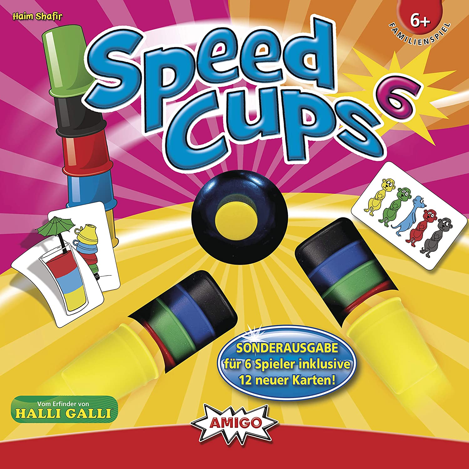 Amigo - Speed Cups 6      6+